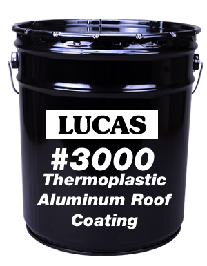 Lucas #3000 Thermoplastic Aluminum Roof Coating