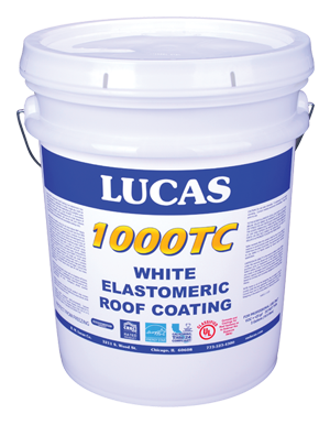 Lucas #1000TC Elastomeric Roof Coating