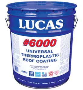 Lucas #6000 Universal™ Thermoplastic Roof Coating