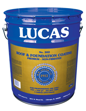 Lucas #302 Roof & Foundation Coating — Premium
