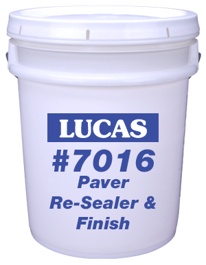 Lucas #7016 Paver Re-Sealer & Finish