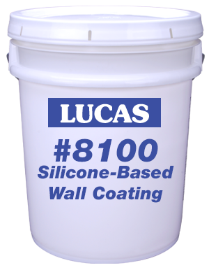 Lucas #8100 Silicone-Based Wall Coating