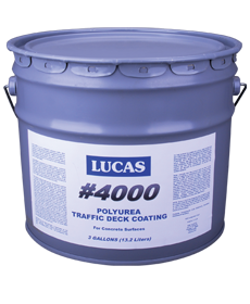 Lucas #4000 Polyurea Traffic Deck Coating