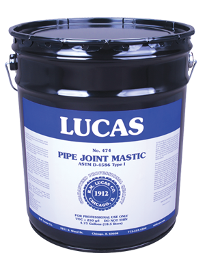 Lucas 474 Pipe Joint Mastic