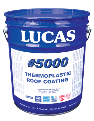 Lucas #5000 Thermoplastic Roof Coating