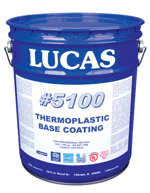 Lucas #5100 Thermoplastic Base Coating