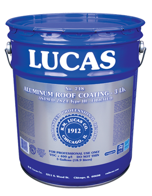 Lucas #748 Aluminum Coating 3 Lb.