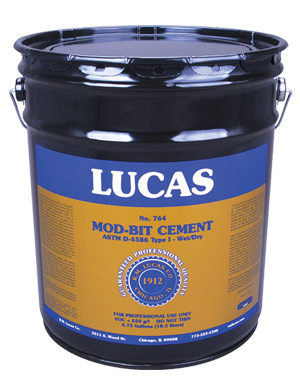 Lucas #764 Mod-Bit Cement Wet Or Dry