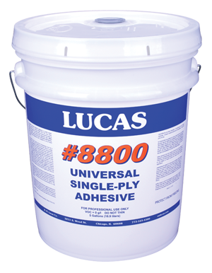 Lucas #8800 Universal Single-Ply Adhesive