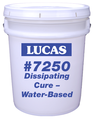 Lucas #7250 Dissipating Cure – Water-Based