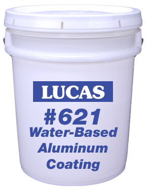 Lucas #621 Water-Based Aluminum Coating