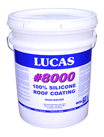 Lucas #8000 Silicone Roof Coating
