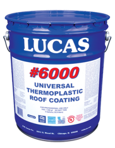 Lucas 6000 Universal Thermoplastic Roof Coating